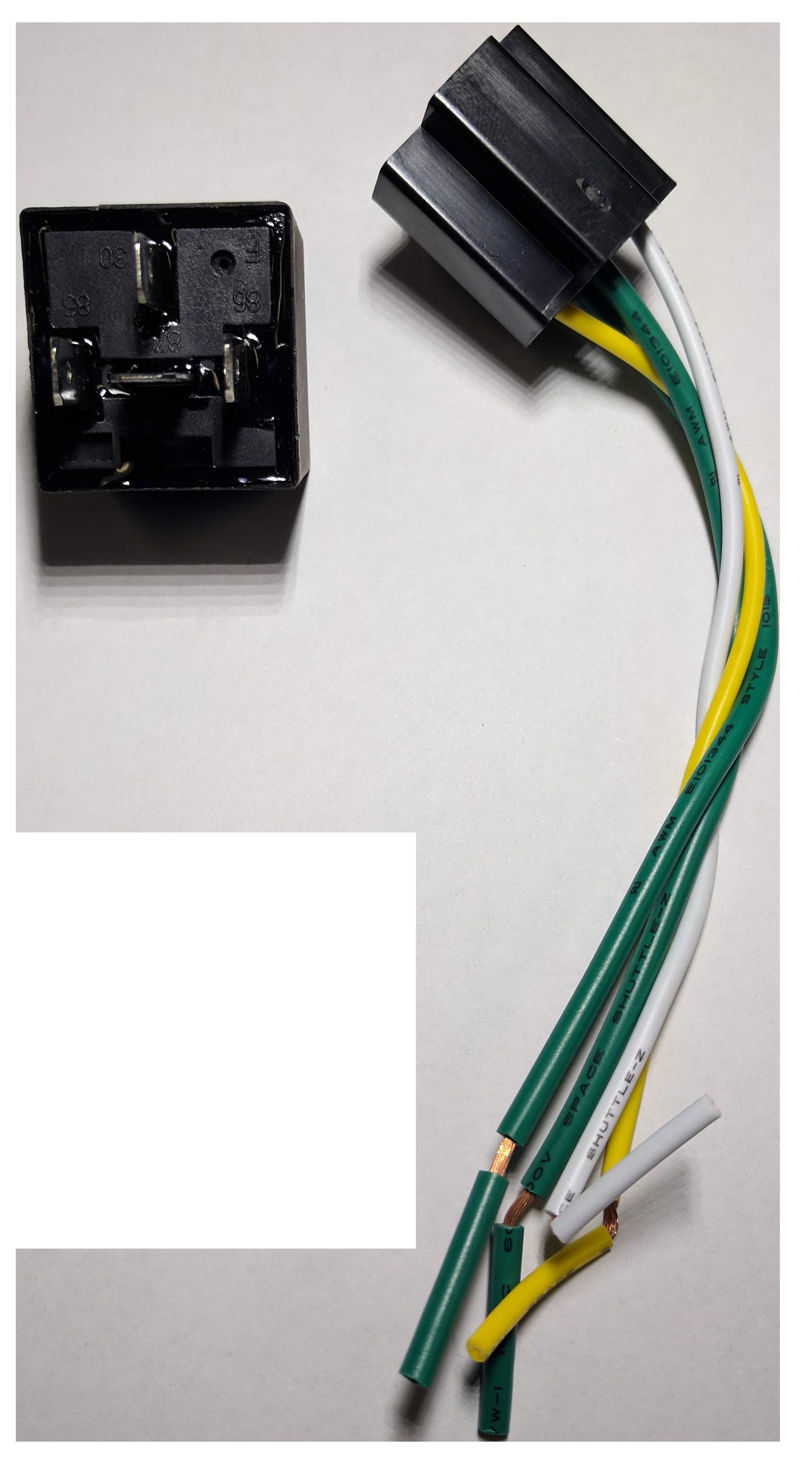 Automotive relay 4 Pin 40A